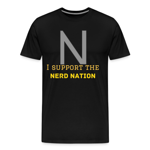 Nerd Nation Shirt - Men's Premium T-Shirt
