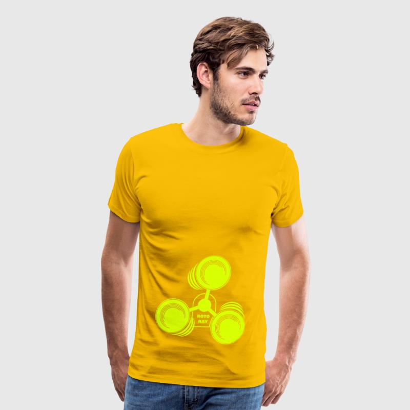 Roto Ray for neon print T-Shirts - Men's Premium T-Shirt