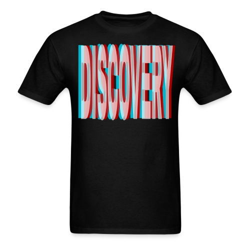 Discovery (3D Style) - Men's T-Shirt