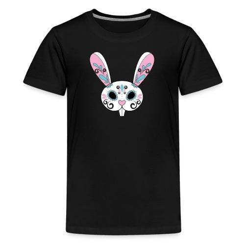Sugar Skull Easter Bunny for kids - Kids' Premium T-Shirt