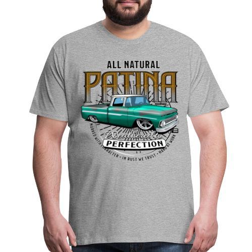 Green Patina Tee - Men's Premium T-Shirt