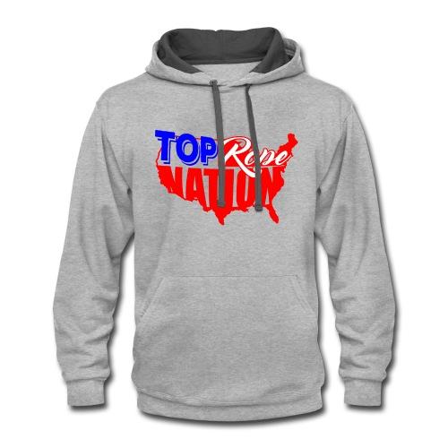 Top Rope Nation Hoodie - Contrast Hoodie