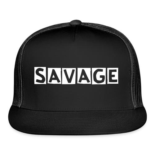 Savavage Hat - Trucker Cap