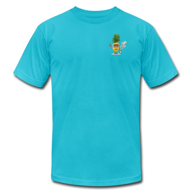 Men's Highnapple T Shirt : turquoise