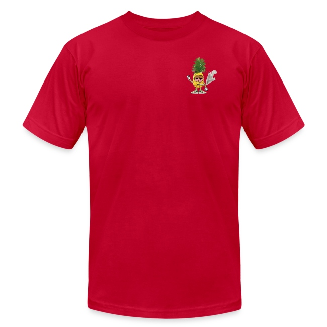 Men's Highnapple T Shirt : red