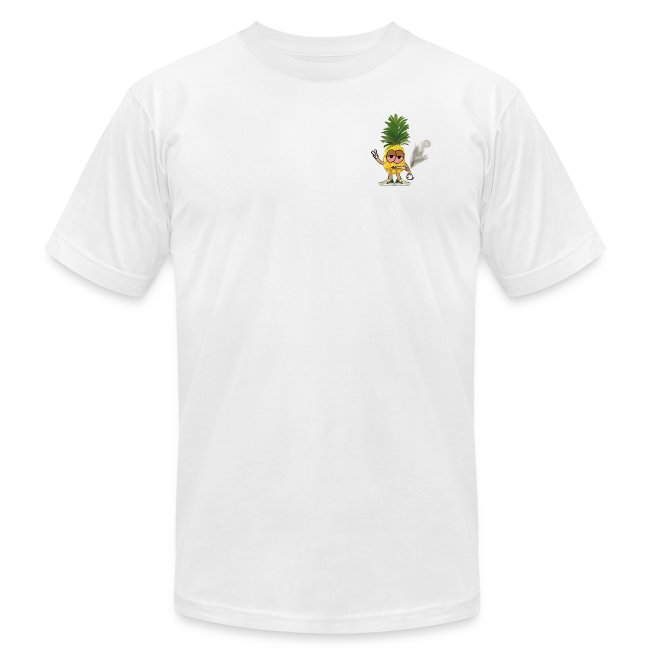 Men's Highnapple T Shirt : white