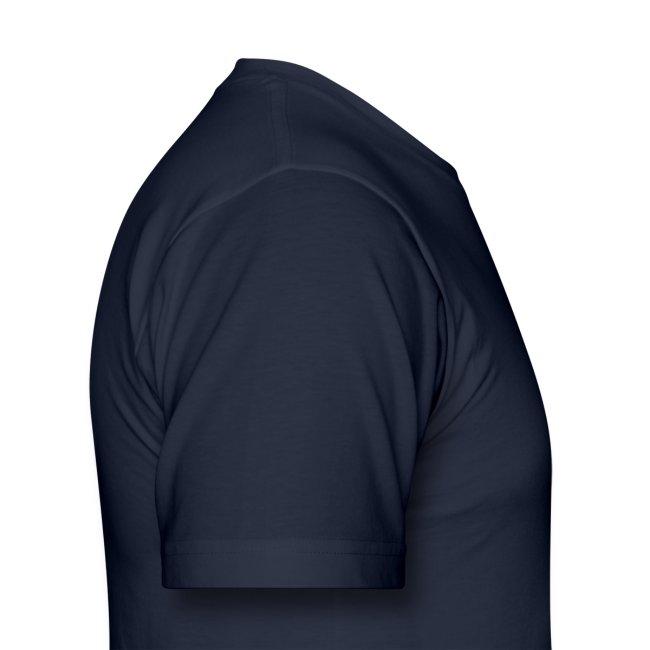 Men's Highnapple T Shirt : navy