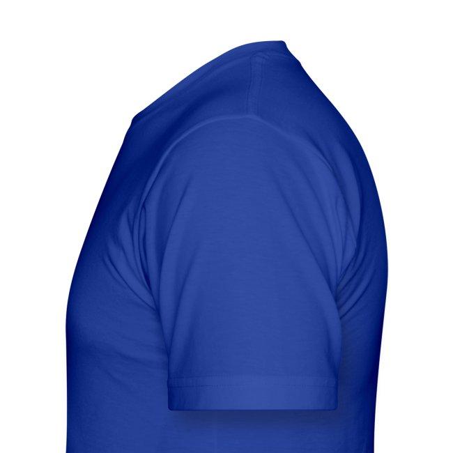 Men's Highnapple T Shirt : royal blue