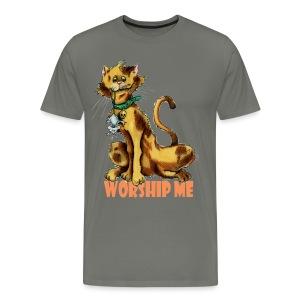 Worship Me Mens T - Men's Premium T-Shirt