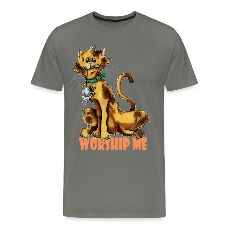 Worship Me Mens T - Men's Premium T-Shirt
