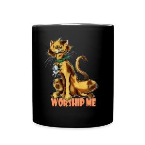Worship me Mug - Full Color Mug