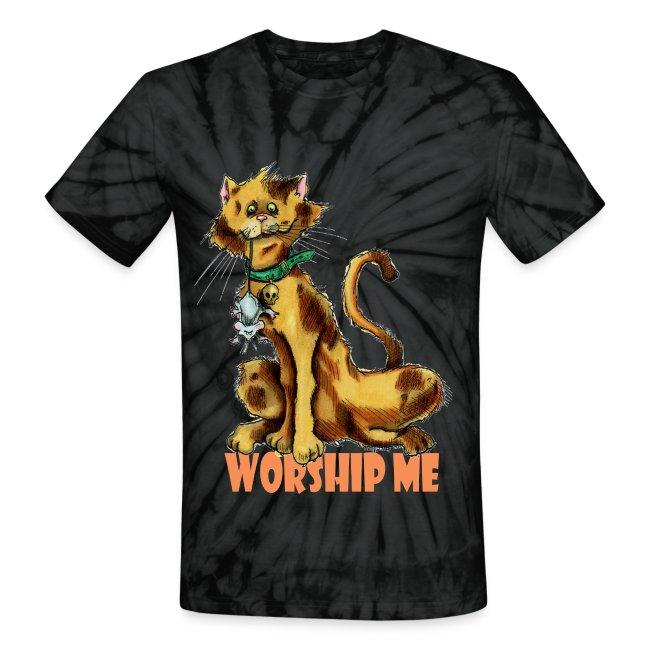 Worship me Unisex Tye Dye T