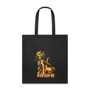 Worship me Tote - Tote Bag