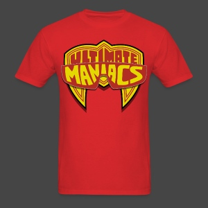 Ultimate Warrior Ultimate Maniacs Red Shirt - Men's T-Shirt
