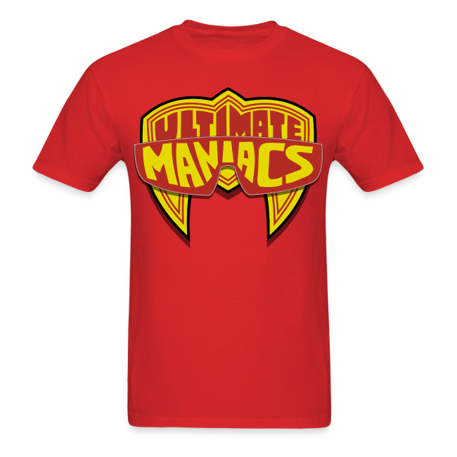Ultimate Warrior Ultimate Maniacs Red Shirt