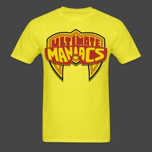 Ultimate Warrior Ultimate Maniacs Yellow Shirt - Men's T-Shirt