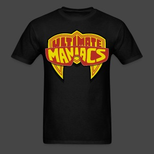 Ultimate Warrior Ultimate Maniacs Black Shirt - Men's T-Shirt