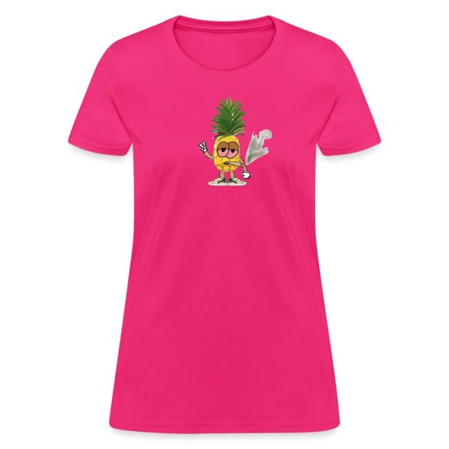 Women's Big Highnapple T-Shirt : fuchsia