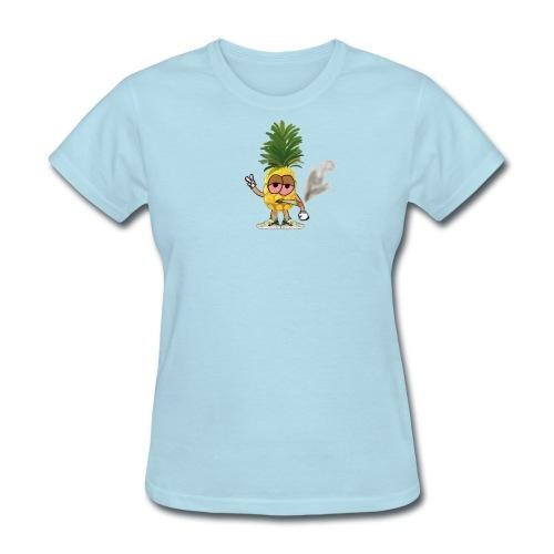 Women's Big Highnapple T-Shirt : powder blue - Women's T-Shirt
