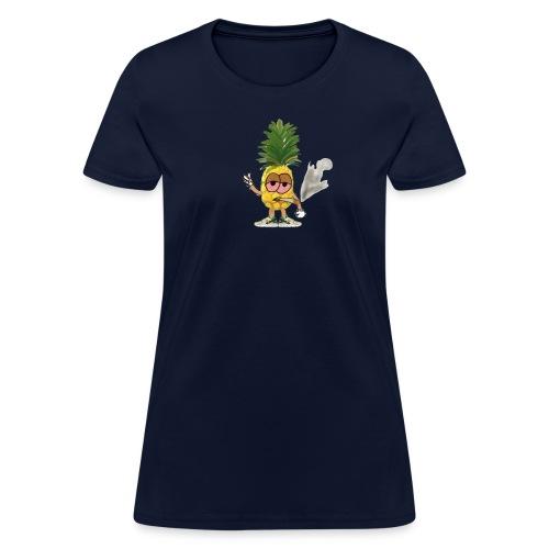 Women's Big Highnapple T-Shirt : navy - Women's T-Shirt