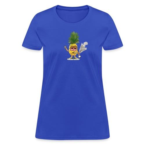Women's Big Highnapple T-Shirt : royal blue - Women's T-Shirt