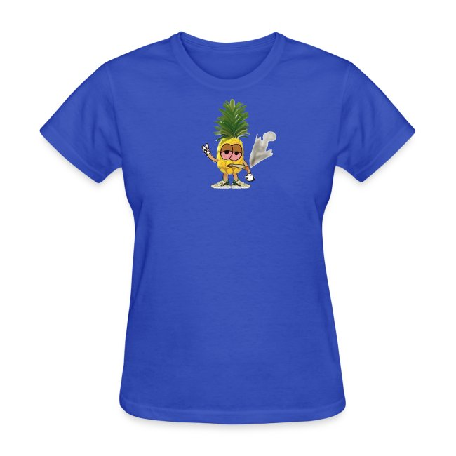Women's Big Highnapple T-Shirt : royal blue