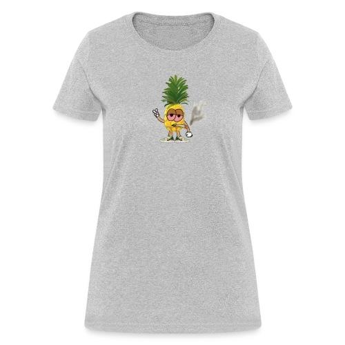Women's Big Highnapple T-Shirt : heather gray - Women's T-Shirt
