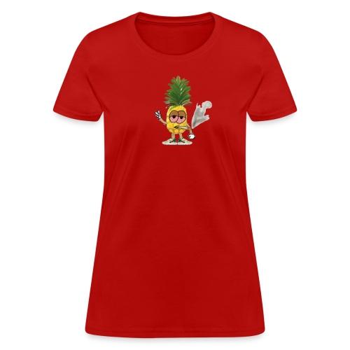 Women's Big Highnapple T-Shirt : red - Women's T-Shirt