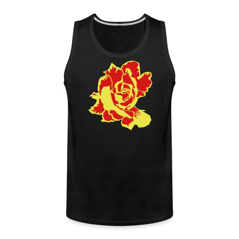 Golden Rose - Men's Premium Tank