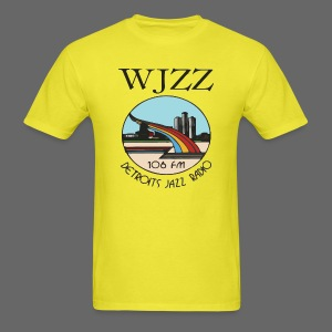 WJZZ 106 FM Detroits Jazz Radio - Men's T-Shirt