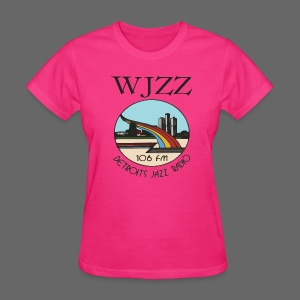 WJZZ 106 FM Detroits Jazz Radio - Women's T-Shirt