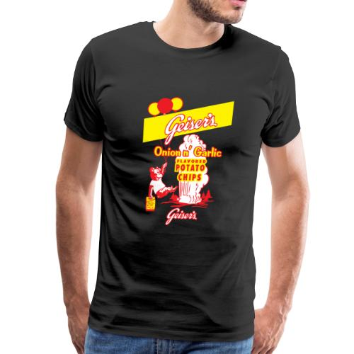 Geiser's Potato Chips - Men - Men's Premium T-Shirt