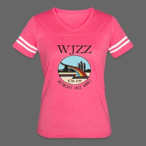 WJZZ 106 FM Detroits Jazz Radio - Women's Vintage Sport T-Shirt