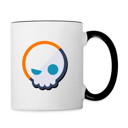 Gnoggin Contrast Mug : white/black - Contrast Coffee Mug