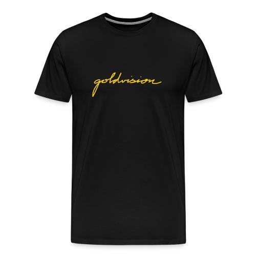 GoldVision Signature Shirt - Men's Premium T-Shirt
