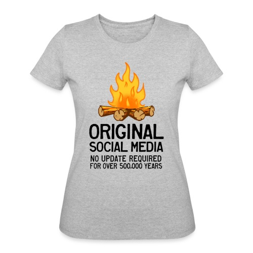 Campfire Original Social Media - Women's 50/50 T-Shirt