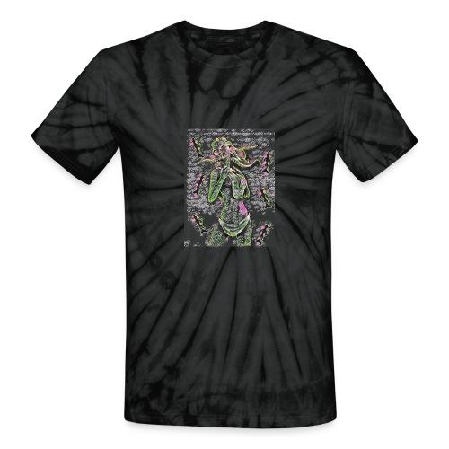 Mermaid Chalk - Unisex Tie Dye T-Shirt