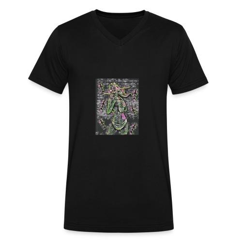 Mermaid Chalk - Men's V-Neck T-Shirt by Canvas