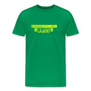 Essential Bass Green Neon Premium T-Shirt - Men's Premium T-Shirt