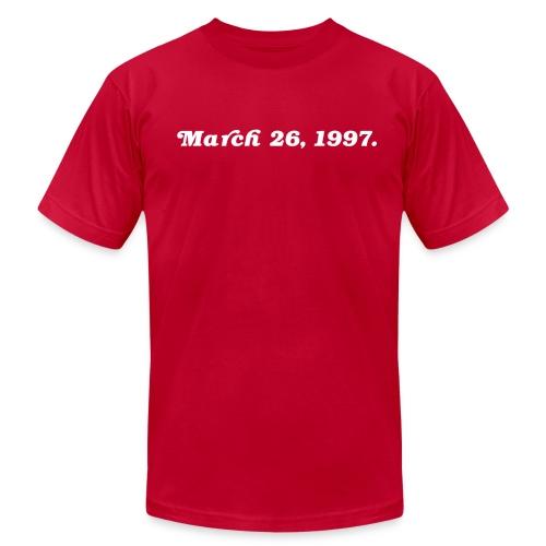 March 26 1997 - Men's Fine Jersey T-Shirt