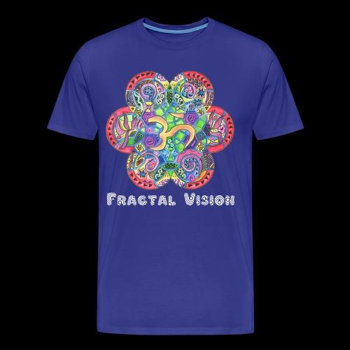 Psychedelic Ohm - Mens T-shirt - Men's Premium T-Shirt