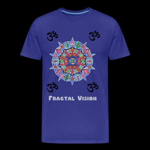 Fractal Mandala - Mens T-shirt - Men's Premium T-Shirt