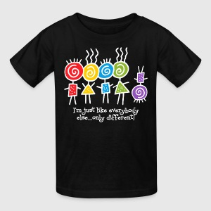 Same Only Different WHT Kids' Shirts - Kids' T-Shirt