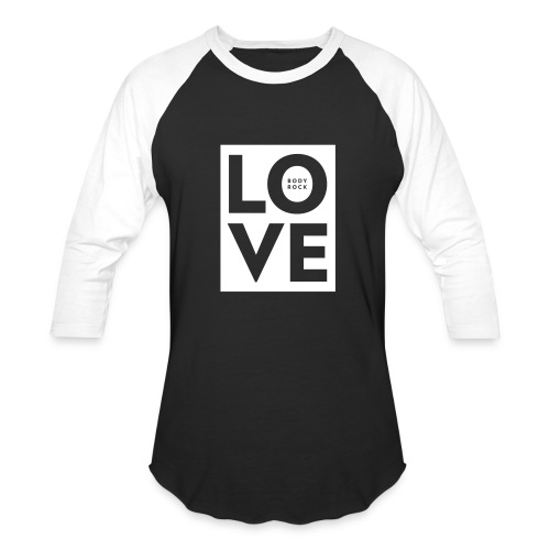 Love BodyRock Mens Shirt - Baseball T-Shirt