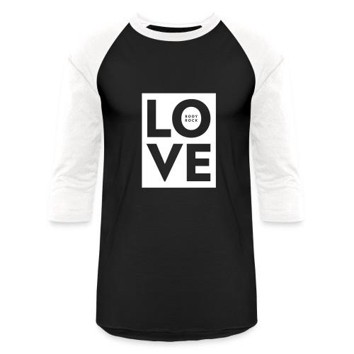 Love BodyRock Mens Shirt - Baseball T-Shirt
