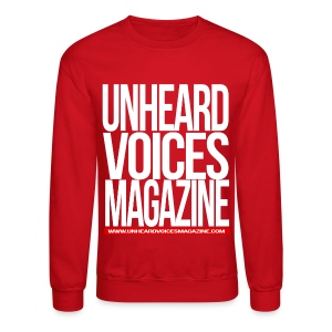 Unheard Voices Magazine Crew Neck (Red) - Crewneck Sweatshirt