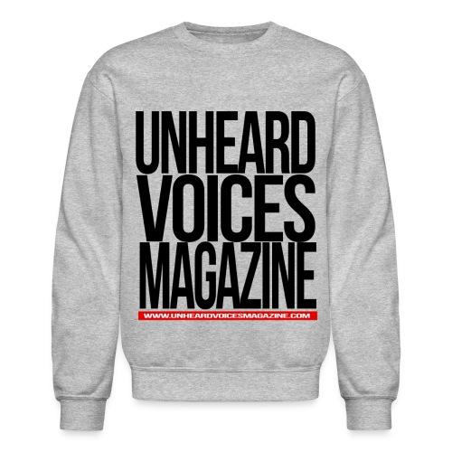 Unheard Voices Magazine Crew Neck - Crewneck Sweatshirt