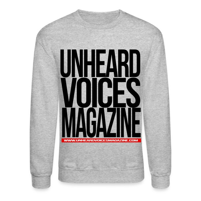 Unheard Voices Magazine Crew Neck