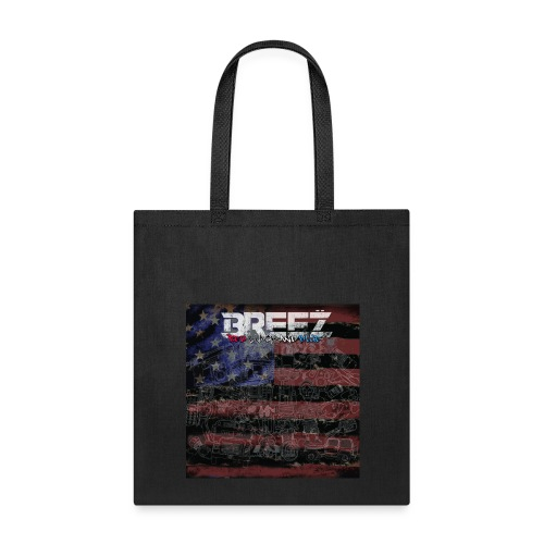 Breez red black and blue (carry+case) - Tote Bag