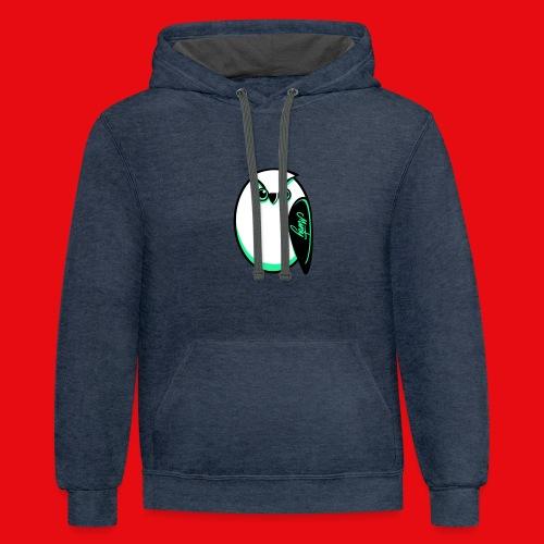 MNTY Owl Logo w/ back logo - Contrast Hoodie